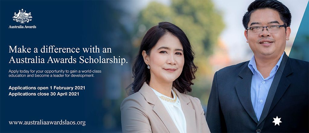Applications for Australia Awards Scholarships are now open!