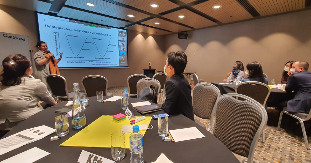 Australia Awards Reintegration Workshop